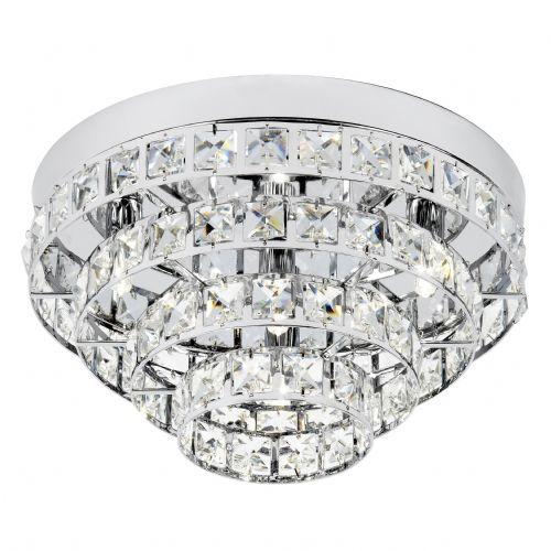 4 Light Ceiling Fitting In Chrome With Glass Beads MOTOWN-4CH